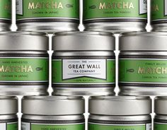 The Great Wall Tea Co. Matcha Packaging
