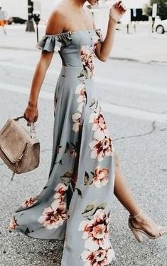 48 Jawdroppingly Cheap Maxi Dress - Blommig sommarklänning Source by - Pretty Dresses, Beautiful Dresses, Awesome Dresses, Look Fashion, Fashion Beauty, Couture Fashion, Mode Pop, Cheap Maxi Dresses, Casual Dresses