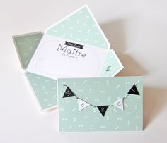 DIY Thank You Card with Bunting Tutorial with FREE Printable by zü