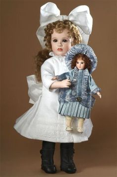 Florence and her French Bebe, by Wendy Lawton