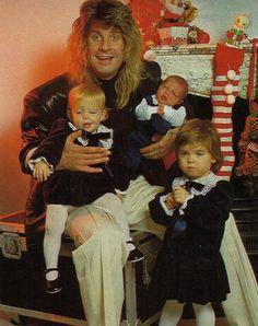 #OzzyOsbourne #Ozzy Ozzy And Sharon, Ozzy Osbourne Black Sabbath, Cinema, Classic Rock, Rock Music, Baby Love, Culture, Couple Photos, Kids