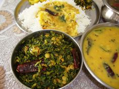 Thotakura Vepudu – Amaranth Leaves Stir Fry