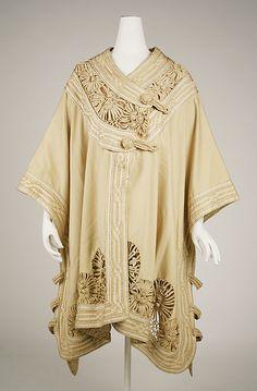 Wrap | United States or Europe, circa 1890 | Materials: silk, wool | The Metropolitan Museum of Art, New York