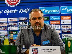 Clemens Krüger, Geschäftsführer beim FSV Frankfurt. Fsv Frankfurt