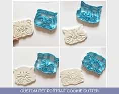 Excited to share this item from my shop: Custom Pet Portrait Cookie Cutter l Personalized cutters l Custom gift l Face l Christmas l Birthday l Cat Dog Face l printed Dog Cookie Cutters, Custom Cookie Cutters, Dog Cookies, Cookies Et Biscuits, Street Dogs, Cat Dog, Last Minute Gifts, Gift Certificates, Pet Portraits