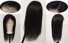 360 frontal wigs details Best Human Hair Wigs, Human Hair Lace Wigs, 360 Frontal Wig, Lace Frontal, Wig Hairstyles, Straight Hairstyles, Straight Lace Front Wigs, Wigs For Sale, Virgin Hair
