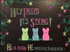 Spring Chalkboard Art 30