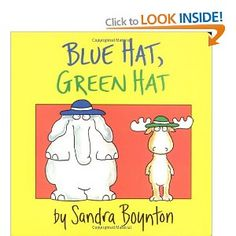 Blue Hat, Green Hat: Amazon.ca: Sandra Boynton: Books