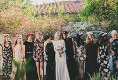 Reformation bridesmaids