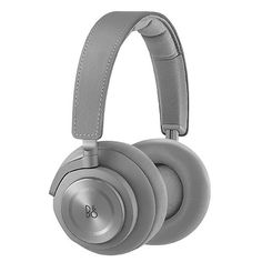 B&O PLAY by Bang & Olufsen Beoplay Wireless Over-Ear Headphone with Active Noise Cancelling, Bluetooth (Argilla Grey) For Sale High End Headphones, Running Headphones, Best Headphones, Bluetooth Headphones, Audiophile Headphones, Sports Headphones, Wireless Noise Cancelling Headphones, Bang And Olufsen, Cell Phone Accessories