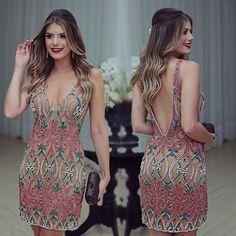 Dia de festa!! Vestido @dress4youatelier deeeuso ❤️ •