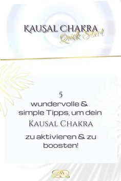 Nutze folgende einfache Alltags-Übungen & Tipps, um dein Chakra zu aktivieren & zu boosten! Ich habe dir auch eine wundervolle geführte Meditation dazu gepackt! #12chakren #chakra #chakras #12chakras #meinechakren #chakraboosten #kausalchakra Chakra, Coaching, Yoga, Cards, Spiritual, Tips, Training, Chakras, Maps