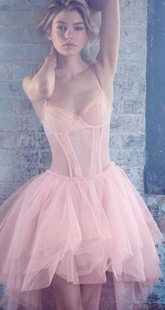 I like a babe who's a ballerina.