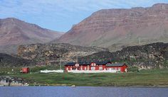 Hotel Disko is placed in the centre of Qeqertarsuaq - the town at the Disko Island - in 5 different buildings close to each other.    One of these buildings is ... Get more information about the Hotel Disko on Hostelman.com #place #Greenland #hotel #travel #destinations #tips #packing #ideas #budget #trips