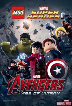 LEGO Assembles the Avengers in Special Marvel's 'Avengers: Age of Ultron' Poster | News | Marvel.com