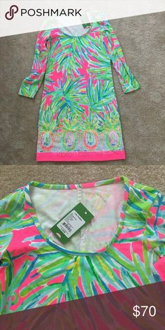 Lilly dress Beacon size xxs NWT! Lilly Pulitzer Dresses Midi