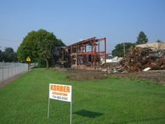 Flashback Friday: 2007 groundbreaking for the Gymnasium and Science/Technology Center