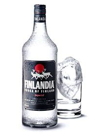 Finlandia vodka. I rather like it. It doesn't seem harsh like some vodkas are.