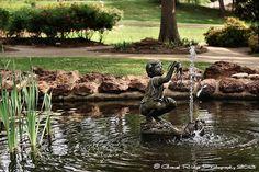 Tyler Rose Garden (Koi Fountain)
