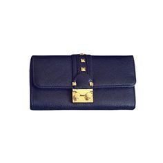 2017 NEW fashion Classic Rivet Purse Lock women clutch bag famous brand Long women wallet PU leather coin purses card holders