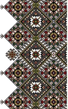 Border Embroidery, Embroidery Motifs, Cross Stitch Embroidery, Embroidery Designs, Cross Stitch Borders, Cross Stitch Flowers, Cross Stitch Designs, Cross Stitch Patterns, Border Pattern