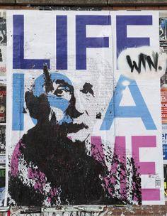 Art I Popart I Streetart I Spraypaint I Icons I Happiness I Love I Joy I Tobias Schreiber I Artist I Künstler I Albert Einstein I Streetart Installation University Hannover