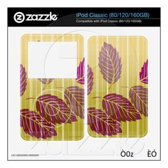 Elegant Striped Leaves from Zazzle.com