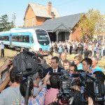 Randazzo presentó un nuevo tren de cercanías hasta Capilla del Señor con formaciones 0km nacionales