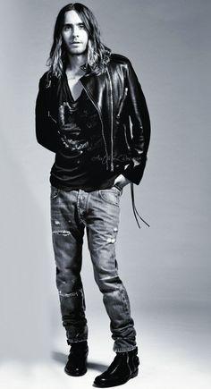Jared Leto. Killer boots