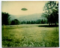 This Polaroid instant photograph of a UFO was taken in the Fort Payne-Valley Head area of Alabama, in 1989. The picture was sent anonymously to the Fort Payne Times Journal newspaper. The Sand Mountain area of Alabama has a rich history of high strangeness, including a wave of unexplained cattle mutilations that were often tied to UFO sightings during the early 1990's.
