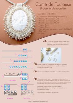 Camé Toulouse  (page 2 of 3)  Oceania Creations craftsperson - Sale of handcrafted jewelry hand made - single seam jewelry