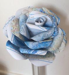 Giant 'Atlas' paper rose giant paper flower paper