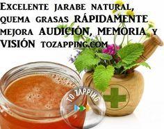 Excelente Jarabe Natural Para Quemar Grasas Y Más. Quremos presentaros un excelente jarabe natural, que nos irá bien para quemar grasas, eliminar retención