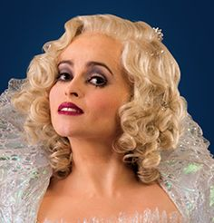 Cinderella 2015 - The Fairy Godmother Cosplay Wig Version 01