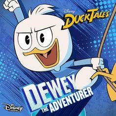 Dewey, The Adventurer! Barbie, Disney Love, Disney Magic, Disney And Dreamworks, Disney Pixar, Comic Art Girls, Disney Ducktales, Scrooge Mcduck, Duck Tales