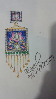 Meena kari look. Womens Jewelry Rings, Jewelry Art, Women Jewelry, Jewelry Illustration, Illustration Sketches, Jewellery Sketches, Jewellery Designs, Fashion Jewellery, Fashion Rings