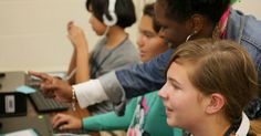 Empowering all students to create with technology through free computer science clubs developed by Google.