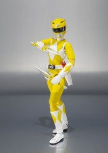 Mighty Morphin Yellow Power Ranger - Tamashii Nations
