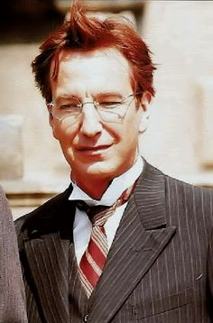 "1996 - Alan Rickman as Eamon de Valera in ""Michael Collins."""