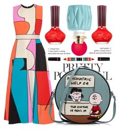 A fashion look from September 2016 featuring Roksanda, embroidered purse and lancome cosmetics. Ask The Dust, Polyvore App, Ugg Boots Australia, Olympia Le Tan, Paul Joe, Young Female, Roksanda, Graphic Prints, Miu Miu