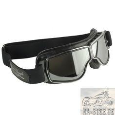 Aviator Goggles Gunmetal