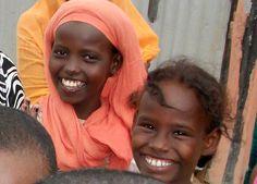 Girls in Djibouti   smile♥