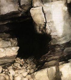 The Mabinogion, Alan Lee