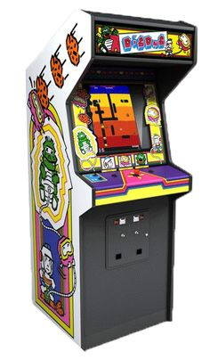 Arcade Games - Dig Dug Arcade Game (1982) - The Pinball Company