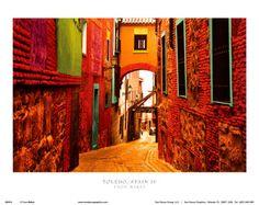 Toledo, Spain IV Print by Ynon Mabet