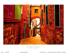 Toledo, Spain IV Print by Ynon Mabet