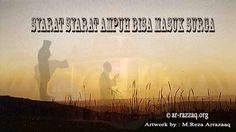 SYARAT SYARAT AMPUH BISA MASUK SURGA