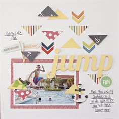 July Member Scraplift Challenge