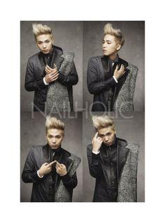 Hongki @ NAILHOLIC Magazine 2013 November Issue
