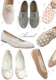 anniel italian made polka dot shoes (via honey kennedy)